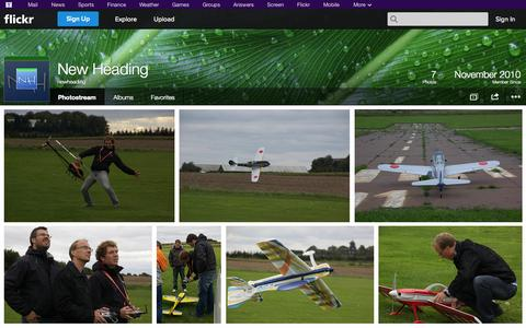 Screenshot of Flickr Page flickr.com - Flickr: newheading's Photostream - captured Oct. 26, 2014