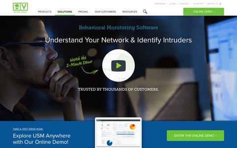 Network Behavior Analysis & Anomaly Detection | AlienVault