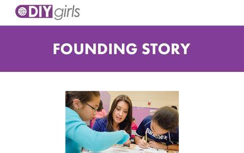 Screenshot of Team Page diygirls.org - Team — DIY Girls - captured July 31, 2016