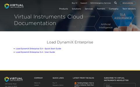 Virtual Instruments Cloud Documentation - Virtual Instruments