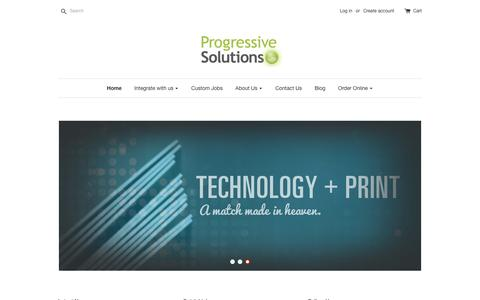 Progressive Solutions | Our passion is to partner with people to enable your creative ideas – PrintHQ