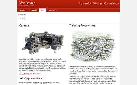 Screenshot of Signup Page alanbaxter.co.uk - Join : Alan Baxter - captured Oct. 4, 2014