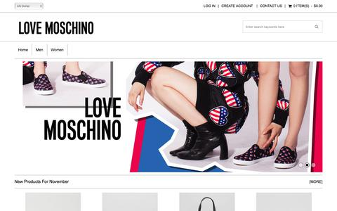 Screenshot of Home Page remotetechusa.com - Love Moschino Bags Sale - Online Get Best Cheapest Products From Us - captured Nov. 8, 2017