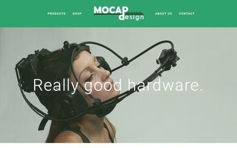 Screenshot of About Page mocapdesign.com - About Us — MOCAP Design - captured May 26, 2017