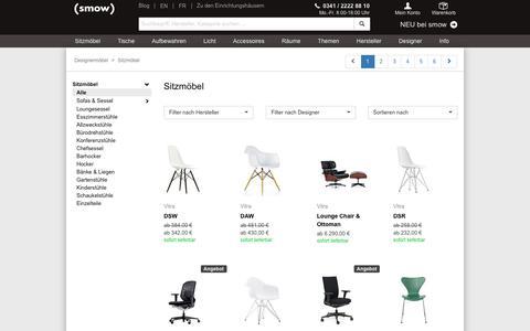 Design-Stühle und Sessel bei smow.de