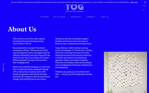 Screenshot of About Page theofficegroup.co.uk - Meet Our Team | The Office Group - captured May 19, 2017