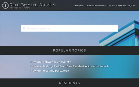 RentPayment Support