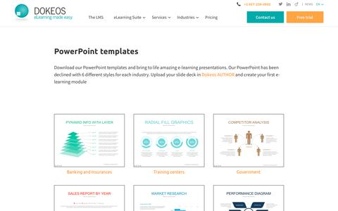 PowerPoint templates - Dokeos