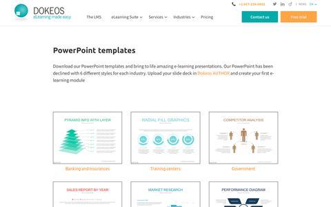 PowerPoint templates - Dokeos