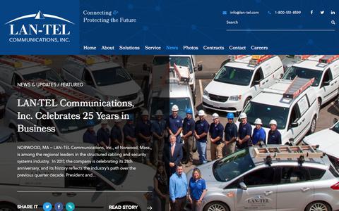 LAN-TEL Communications Inc. | Company Updates & The Latest News