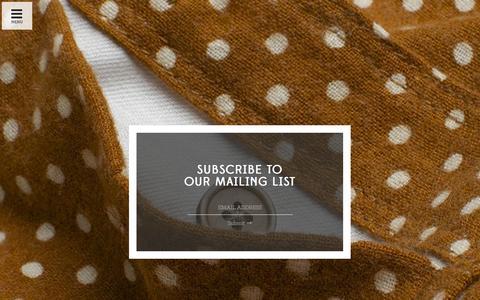 Screenshot of Signup Page freenotecloth.com - Sign Up – Freenote Cloth - captured Sept. 30, 2014