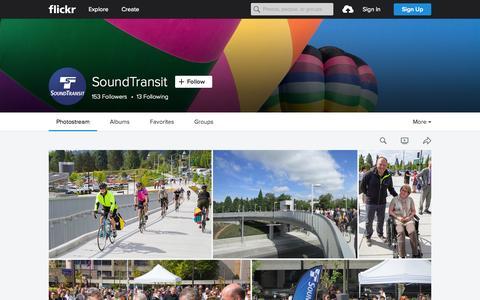 Screenshot of Flickr Page flickr.com - SoundTransit   Flickr - Photo Sharing! - captured Nov. 23, 2015