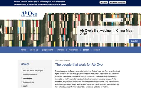 Screenshot of Team Page ab-ovo.nl - The people that work for Ab Ovo | AbOvo - captured May 23, 2016