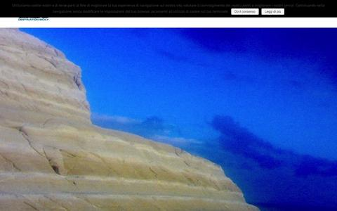 Screenshot of Home Page destinationsicily.it - Destination Sicily DMCHOME - Destination Sicily DMC - captured Feb. 8, 2016