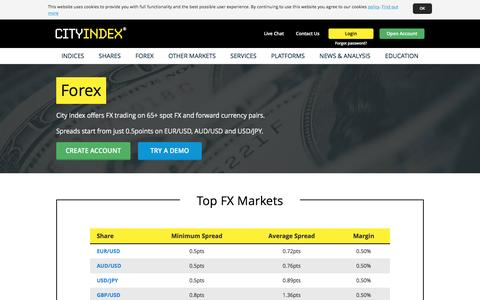 Forex Trading | Trade FX Online | Currency Analysis | City Index