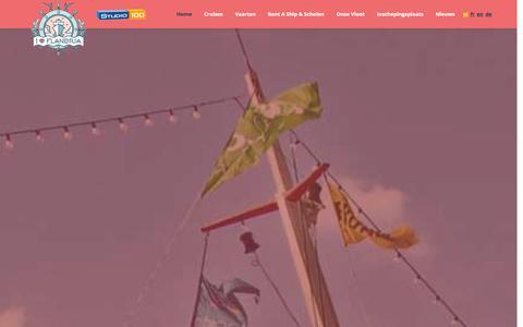 Screenshot of Home Page flandria.nu - Flandria | Een tochtje met Flandria. Dat blijft hangen. - captured Sept. 30, 2014