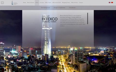 Screenshot of About Page bitexcofinancialtower.com - About - Bitexco Financial Tower - captured March 3, 2016