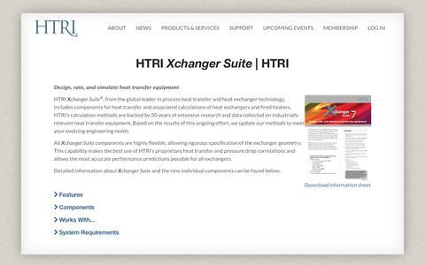 HTRI Xchanger Suite  | HTRI | HTRI