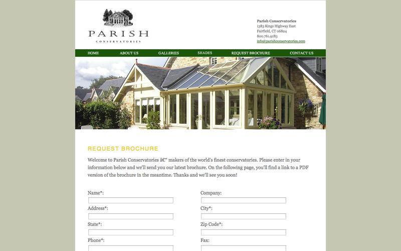 Parish Conservatories: Hardwood Conservatories and Orangeries: 800.761.9183