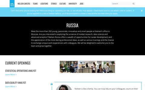 Russia – Nielsen Careers