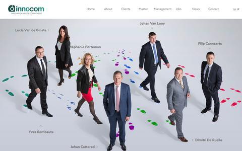 Screenshot of Team Page inno.com - Management - inno.com - captured Feb. 11, 2016