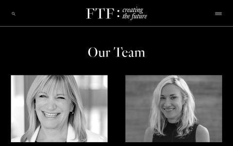 Screenshot of Team Page fashiontechforum.com - Our Team | FASHION TECH FORUM - captured Aug. 12, 2018