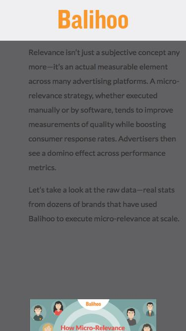 Infographic: How Micro-Relevance Performs Across 20,000 Ad Groups