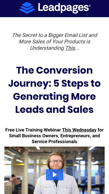 The Conversion Journey: Lead Generation & Sales Funnels