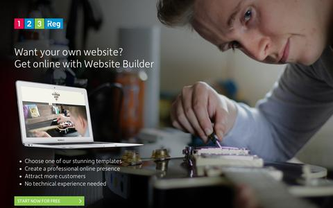 Screenshot of Home Page zulu-sports.com - Want your own website?   123 Reg - captured Sept. 21, 2018