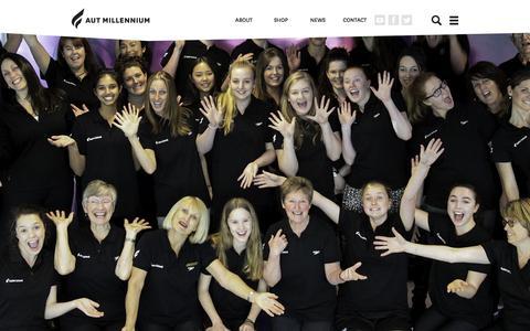 Screenshot of Team Page autmillennium.org.nz - Our Team - captured Feb. 13, 2016