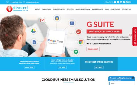 Google Apps for Business | Email Hosting Solution | MS Office 365 | Cloud Email Services