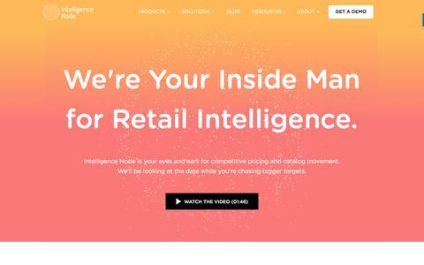Screenshot of About Page intelligencenode.com - About Us   Intelligence Node - captured April 27, 2018