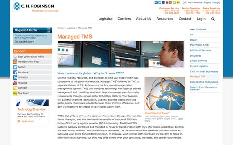 Managed TMS - C.H. Robinson