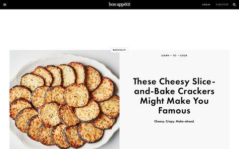Screenshot of Home Page bonappetit.com - Bon Appétit Magazine: Recipes, Cooking, Entertaining, Restaurants | Bon Appetit - captured Oct. 19, 2017