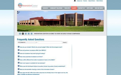 Screenshot of FAQ Page niic.net - NIIC - captured Oct. 26, 2014