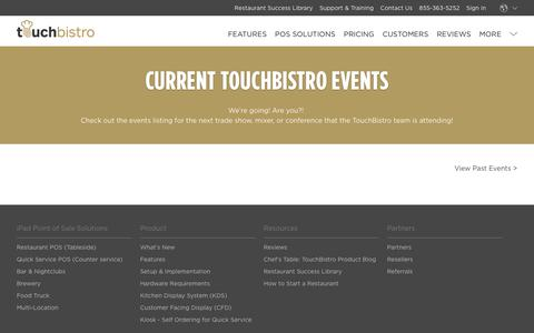 Restaurant Events and Shows - TouchBistro Events