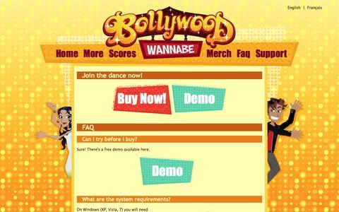 Screenshot of FAQ Page chrysaorstudio.com - Bollywood Wannabe | Faq - captured May 17, 2017