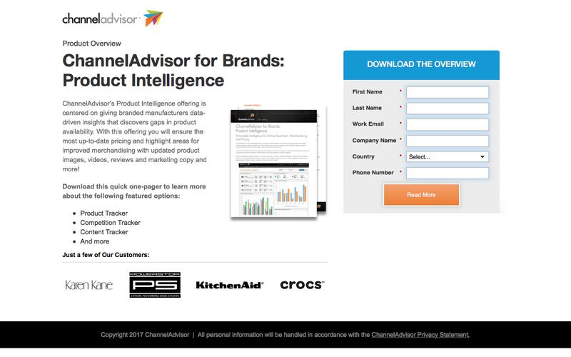 ChannelAdvisor for Brands: Product Intelligence | ChannelAdvisor