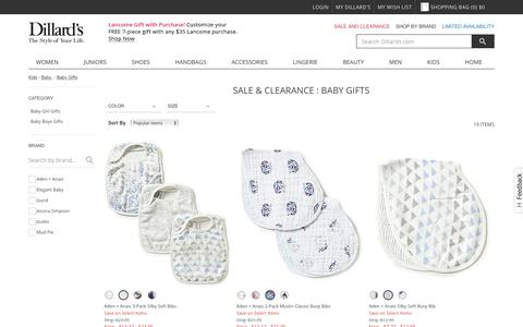 Sale & Clearance Kids | Baby | Baby Gifts | Dillards.com