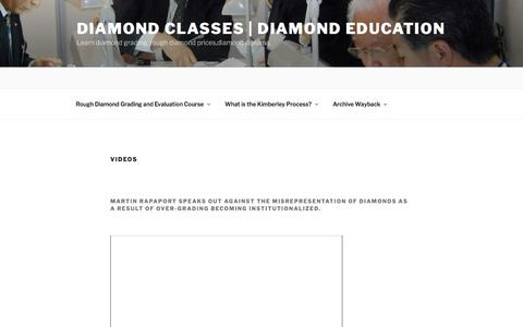 Videos | Diamond Classes | Diamond Education