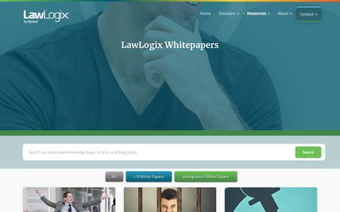 LawLogix Whitepapers | LawLogix.com