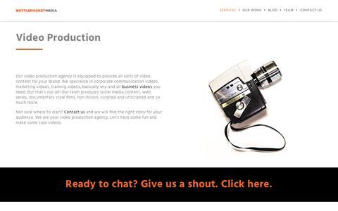Video Production Agency | Bottle Rocket Media | Bottle Rocket Media