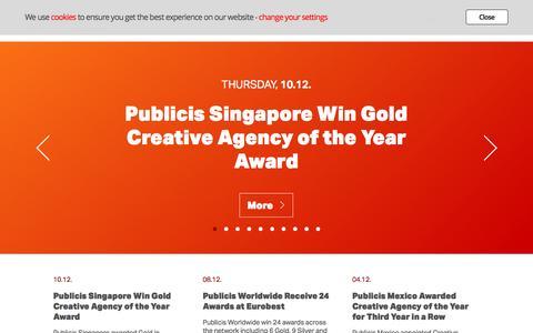 Publicis Worldwide | News