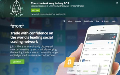 eToro - The World's Leading Social Trading and Investing Network