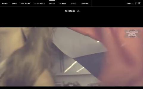 Screenshot of Press Page amsterdammusicfestival.com - Amsterdam Music Festival - captured Sept. 30, 2014