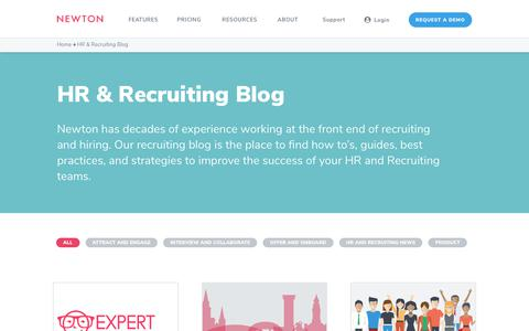 Recruiting & Human Resources Blog | Newton Software