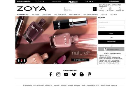Zoya Natural Nail Polish & Nail Care Treatments