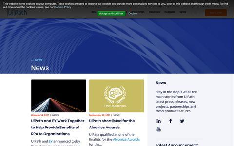 uipath com's Web Marketing Designs   Crayon