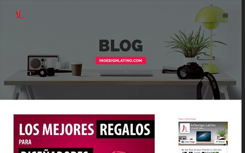 Screenshot of Blog erickragas.com - Blog | InDesign Latino - captured Jan. 30, 2016