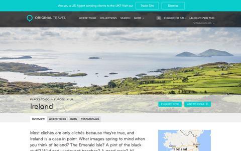 Ireland, UK | Original Travel